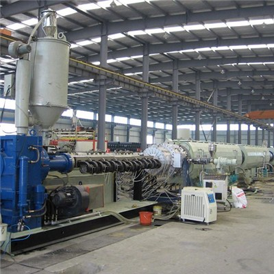 Huge Diamter PE Pipe Extrusion Line