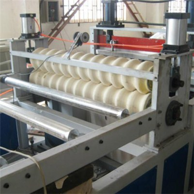 PVC Wavy Plate Extrusion Machine Line