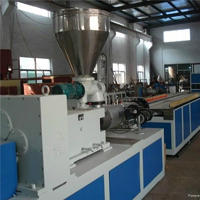 PVC Imitation Marble Profile Extrusion Machine