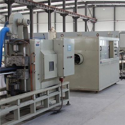 HDPE Gas-supply Pipe Extrusion Line