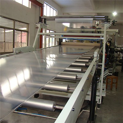 PVC Transparent Sheet Extrusion Machine