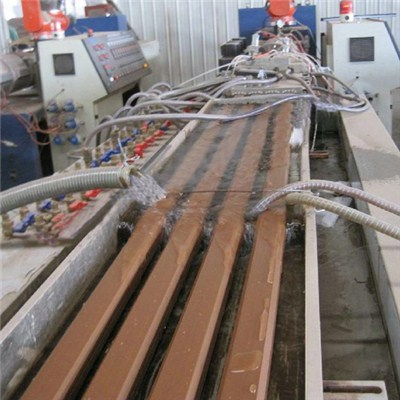WPC Plank Extrusion Line For Sale