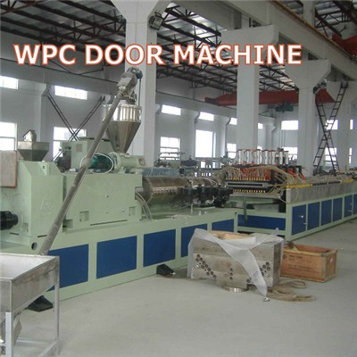 WPC Door Panel Extrusion Machine