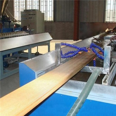 WPC Fence Panel Extrusion Line