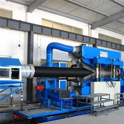 PVC Double Wall Corrugation Pipe Extrusion Line