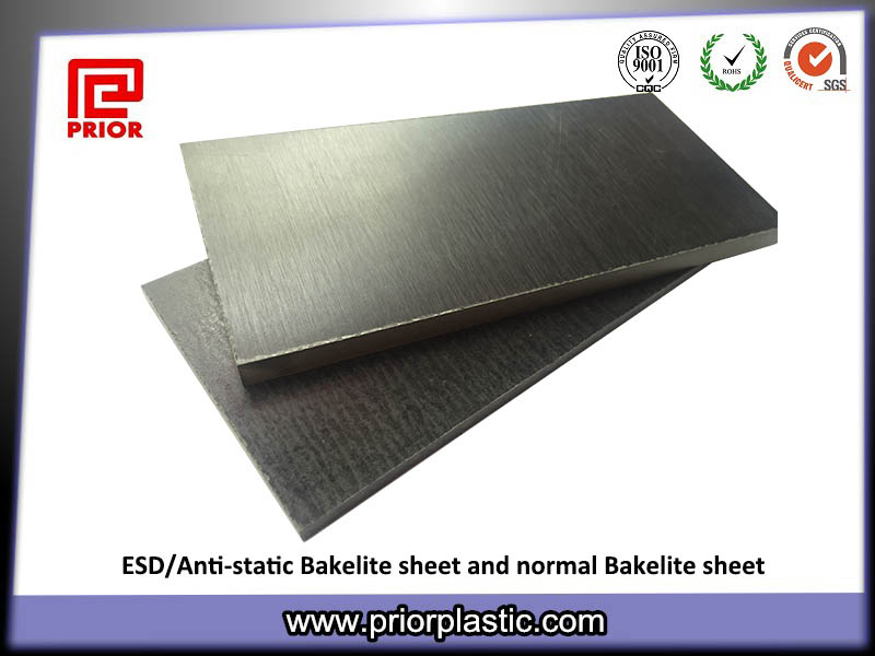 ESD bakelite sheet black sheet