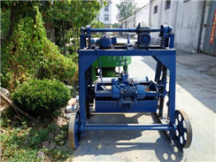 HLM-6 Semi-automatic Mobile Perforated Brick Machine