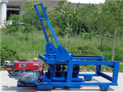 HLD-4 Diesel Engine Powered Brick-making Machine