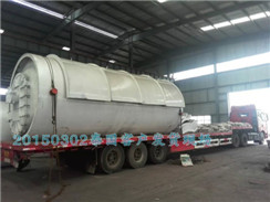 5on/day Half Automatic Oil Sludge Pyrolysis Plant