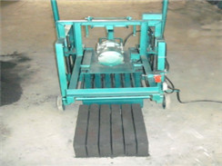 HLS-4 Semi-automatic Mobile Hollow Brick Machine