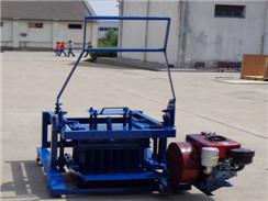 HLD-5 Diesel Engine Powered Brick-making Machine