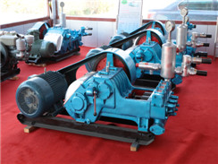 HBW-320 Horizontal,triplex-cylinder,reciprocating Single-acting Plunger Pumps