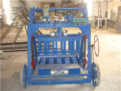HLM-28 Semi-automatic Mobile Standard Brick Machine