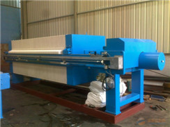 High Temperature PP Chamber Filter Press Size 1250 X 1250mm