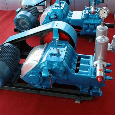 HBW350 Horizontal Triplex-cylinder Reciprocating Single-acting Plunger Oil Pump