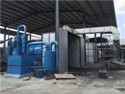 7ton/day Half Automatic Waste Tyre Pyrolysis Plant
