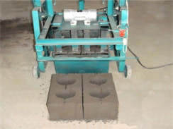 HLM-5 Semi-automatic Mobile Hollow Brick Machine