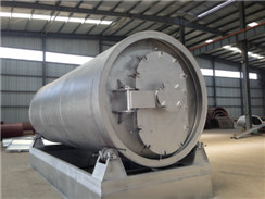 20ton/day Fully Automatic Waste Tyre Pyrolysis Plant
