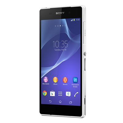 SONY Z2 D6503 (Unlocked, 16GB, White, Refurbished)