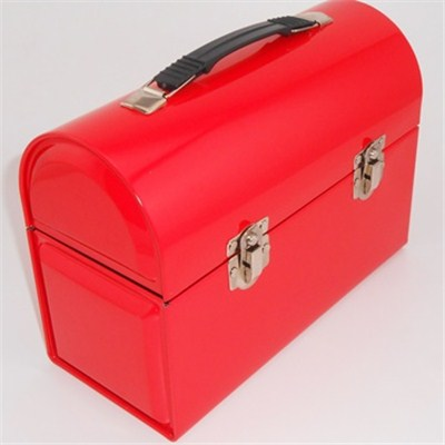 Suitcase Shape Tin Box