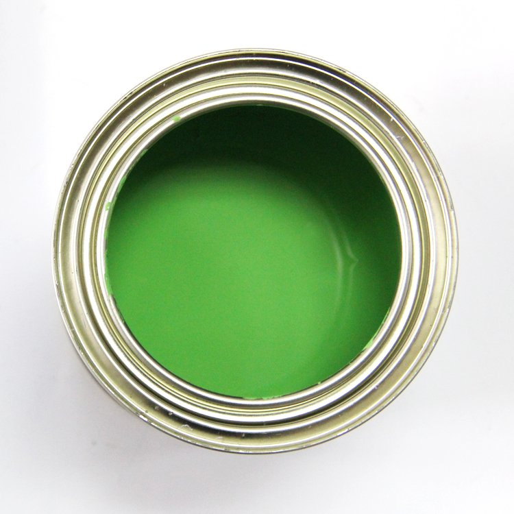 auto refinish  paint green color