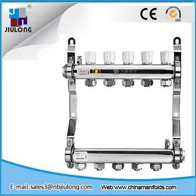Stainless Steel Manifold With Single Hand Wheel