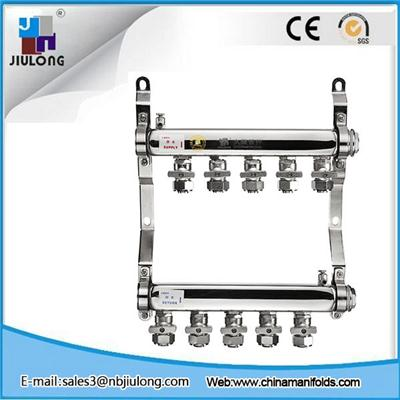 Stainless Steel Manifold With Double Ball Valves