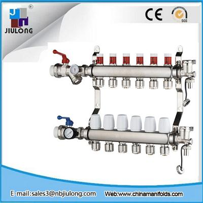 Stainless Steel Manifold With Short Flowmeter