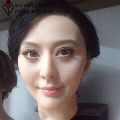 Beauty Wax Figure Of Celebrity