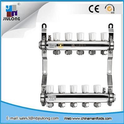 Stainless Steel Manifold With Double Hand Wheels