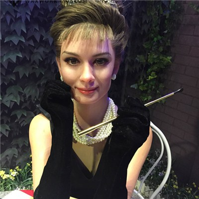 Lifesize Wax Figure Of Andrey Hepburn