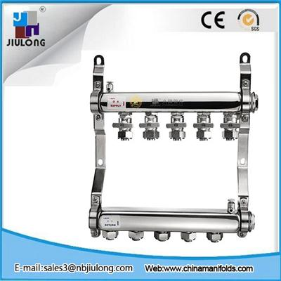 Stainless Steel Manifold With Single Ball Valve