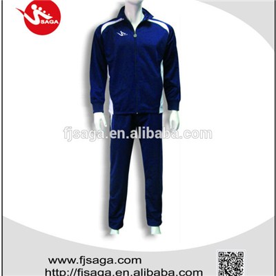 Polyester Tricot Tracksuit