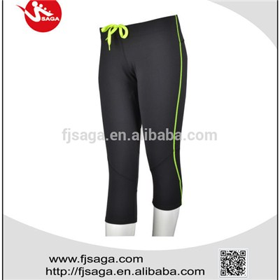 Midi Pattern Running Tights