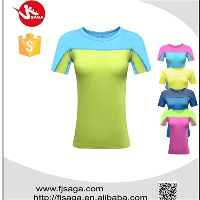 Spandex Tennis Shirt
