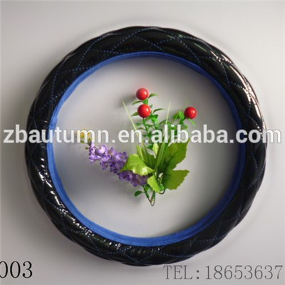 PVC Diamond Grain Steering Wheel Cover