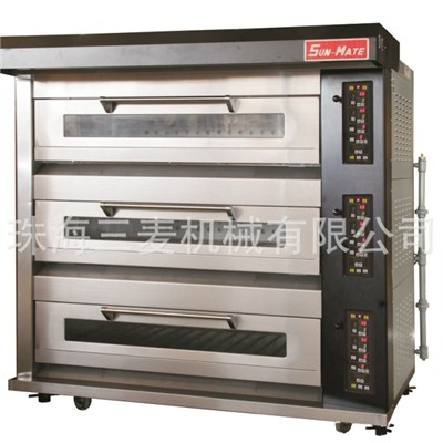 Gas Luxury Deck Oven WGC,T,B,F,M-3YG