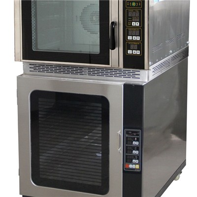 Electric Convection Oven+Proofer WCVE-4C-P
