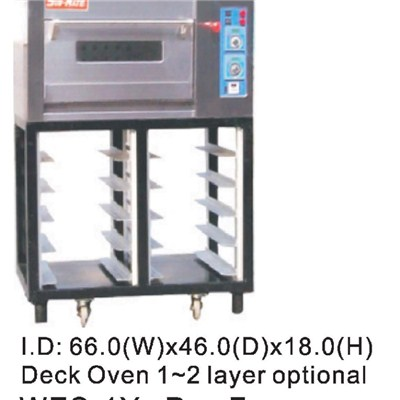 Electric Single Tray 40x60 Deck Oven WES-1Y