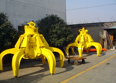 Crane Accessories Hydraulic Grab