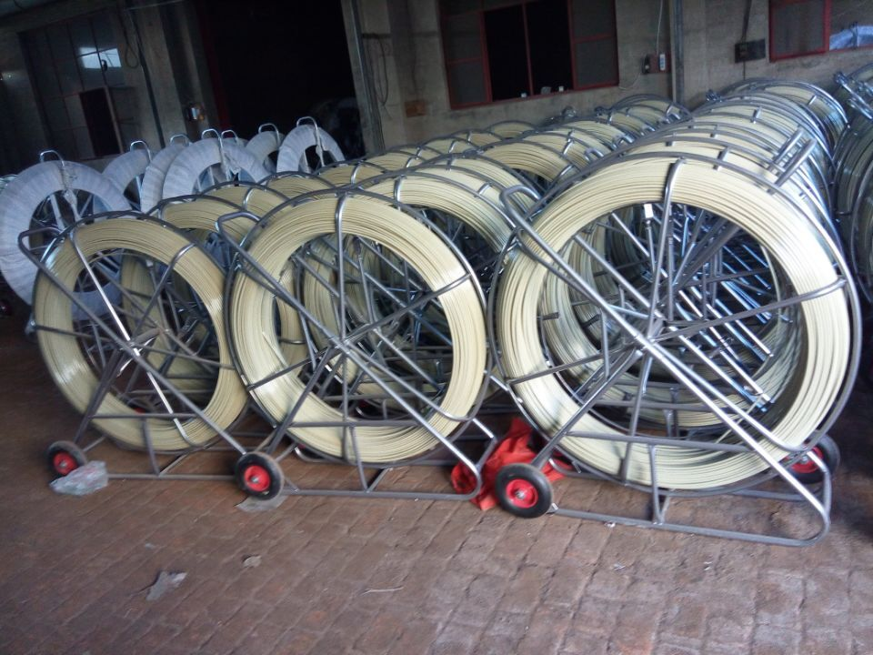 power cable fiberglass rodder