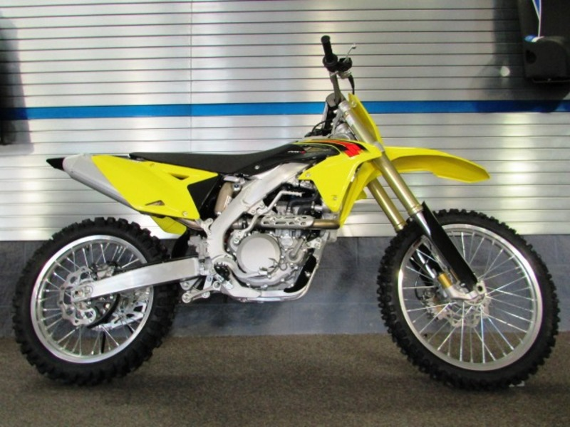 New 2015 Suzuki RM-Z 450 motorcycle dirt bike