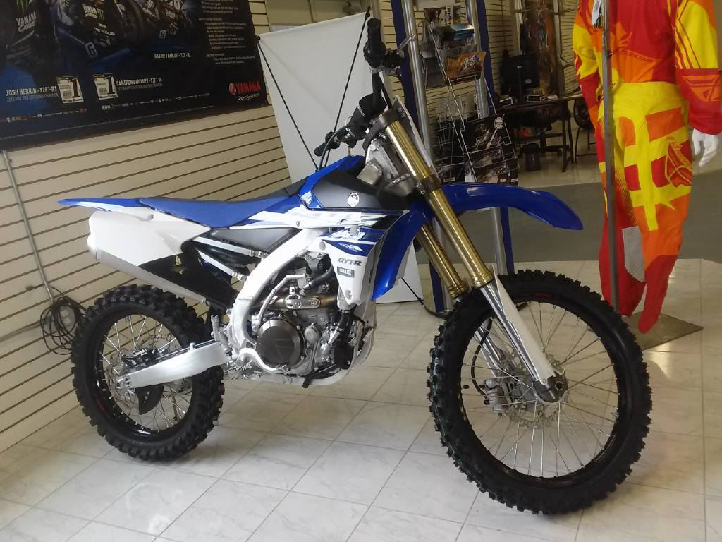 2015 Yamaha YZ 450F motorcycle dirt bike