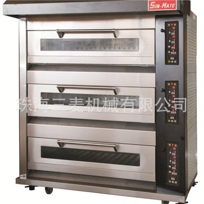 Electric Luxury Deck Oven WEC,T,B,F,D,M-3YG