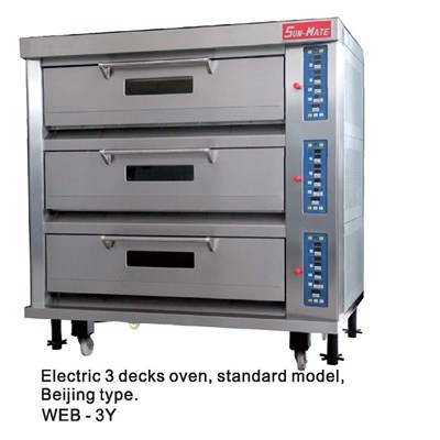 Electric Standard Deck Oven WEC,T,B,F,D,M-3Y