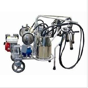 Two Buckets Vacuum Pump Milking Machines