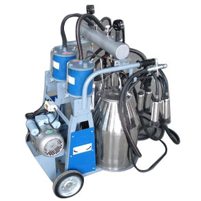 Piston Two Buckets Milking Machine