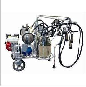 Gasoline Two Buckets Milking Machine