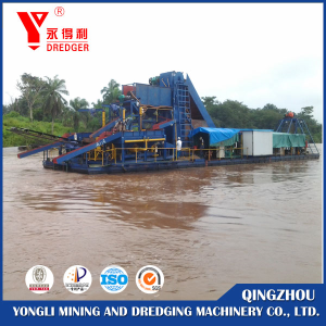 Bucket Type Diamond Dredger