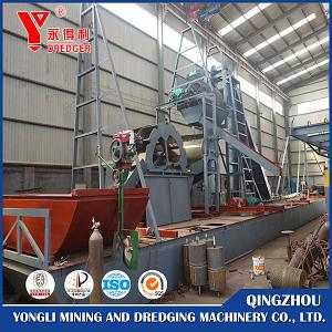 Bucket Type Iron Sand Dredger